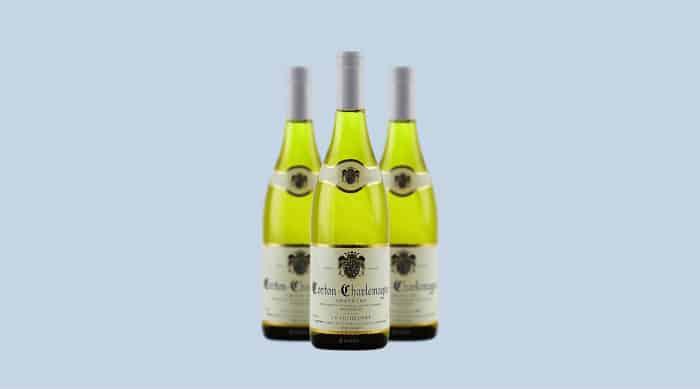 White Burgundy wine: coche-Dury Corton-Charlemagne Grand Cru 2009