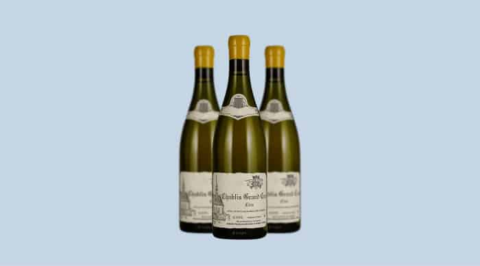 White Burgundy wine: Domaine François Raveneau Les Clos, Chablis Grand Cru 2017