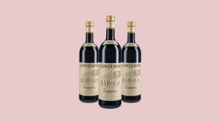 Italian Red Wine: 2010 Giacomo Conterno Monfortino Barolo Riserva DOCG