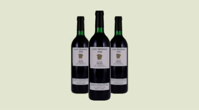 spanish red wine: 1994 Clos i Terrasses Clos Erasmus
