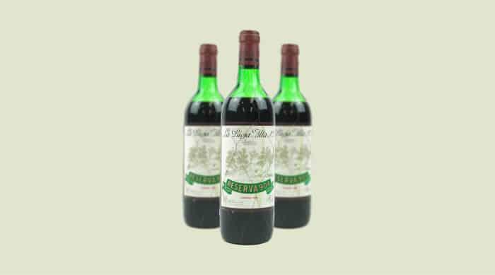 Spanish Red Wine: 1964 La Rioja Alta S.A. Gran Reserva 904