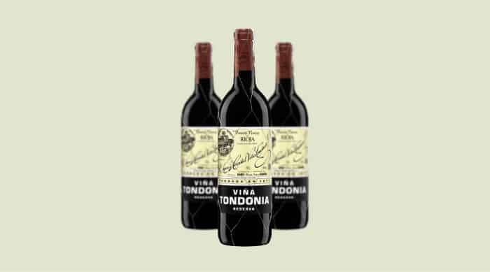 spanish red wine: 2007 R. Lopez de Heredia Vina Tond onia Reserva