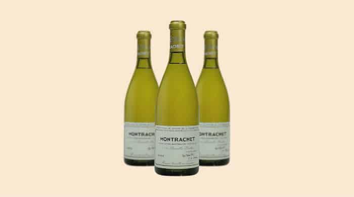 Chardonnay wine: 2017 Domaine de la Romanee-Conti Montrachet Grand Cru (France)