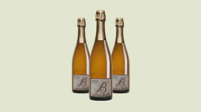 sparkling wine: Camille Braun Coeur de Cuvée Crémant d'Alsace 2011