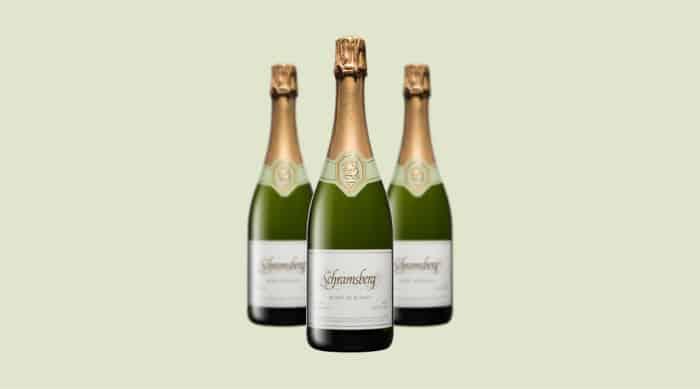 sparkling wine: Schramsberg Blanc de Blancs 2009
