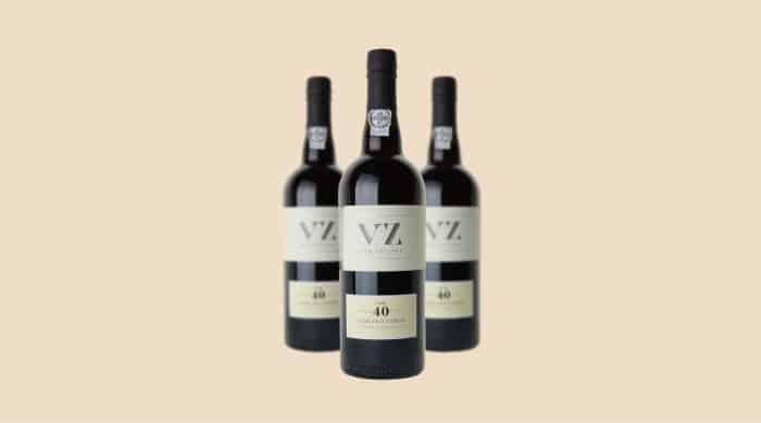Van Zellers VZ 40 Years Old Tawny Port wine