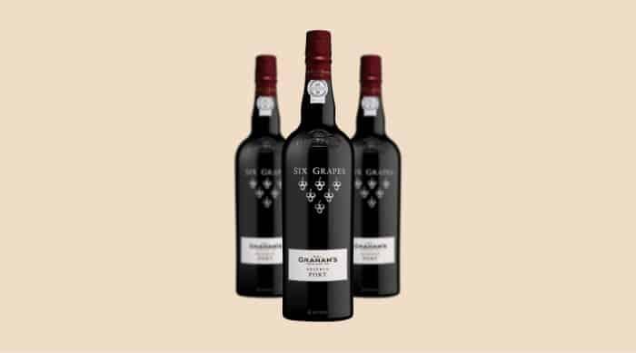 W & J Graham's Six Grapes Reserve Port wine