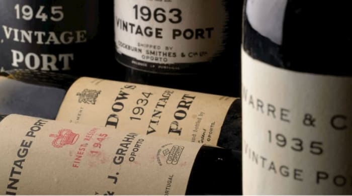 What is Vintage in the context of Port Wines?