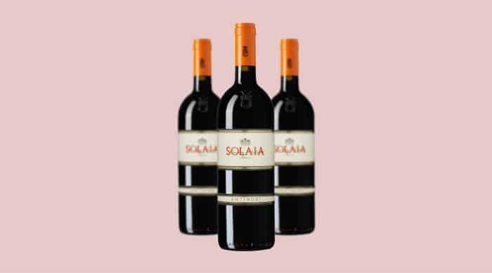 Red wine: Marchesi Antinori Solaia Toscana IGT 2015 (Italy)