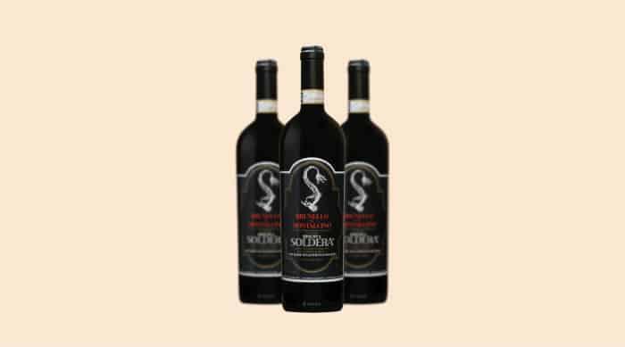Sangiovese wine: 1983 Case Basse di Gianfranco Soldera Brunello di Montalcino Riserva DOCG, Tuscany, Italy