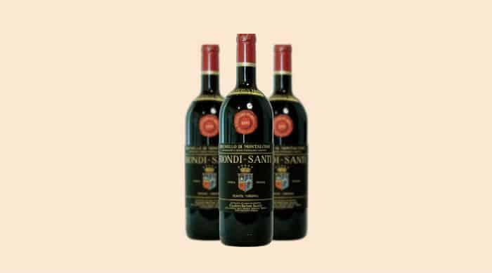 Sangiovese wine: 1891 Biondi Santi Tenuta Greppo Riserva, Brunello di Montalcino DOCG