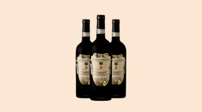 Sangiovese wine: 2010 Il Marroneto Madonna delle Grazie, Brunello di Montalcino DOCG, Italy