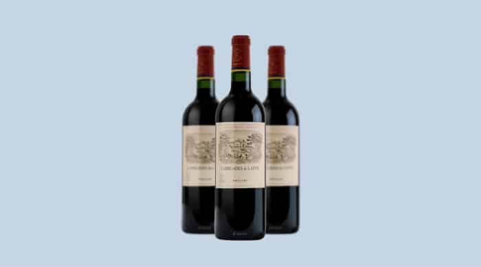 Dry red wine: Château Lafite Rothschild 'Carruades de Lafite' 2012
