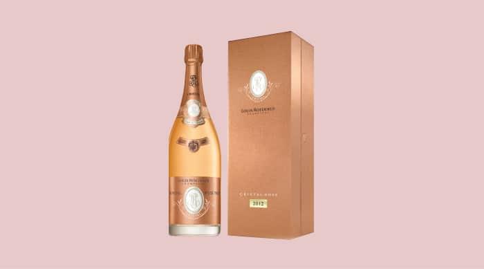 Pink champagne: Louis Roederer Cristal Brut Rose 2012