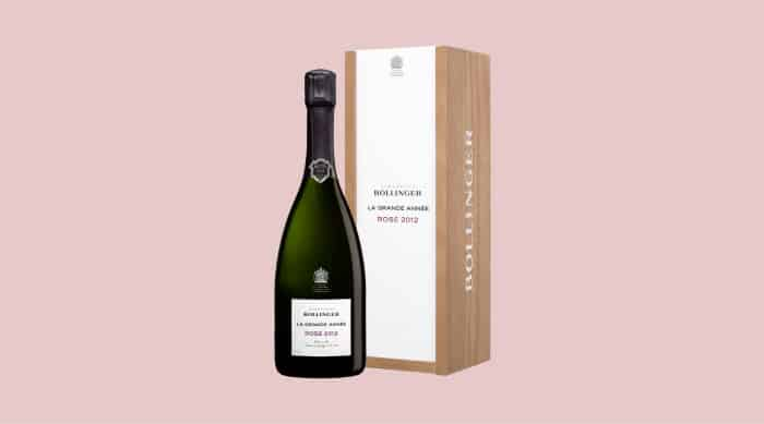 Pink champagne: Bollinger La Grande Annee Rose 2012 Champagne