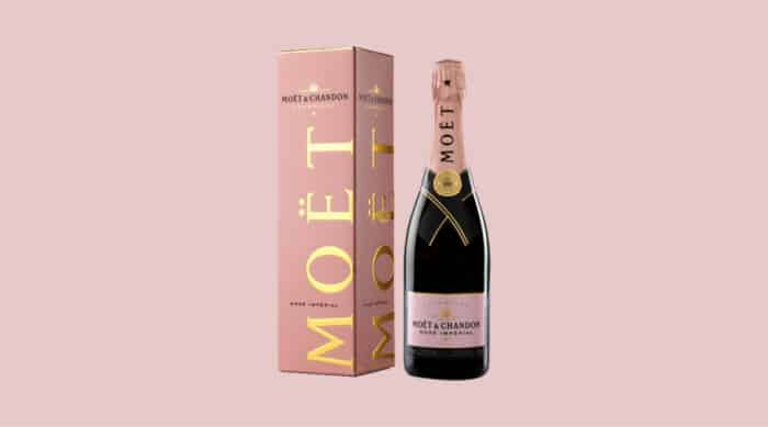 Pink champagne: Moet & Chandon Rose Imperial