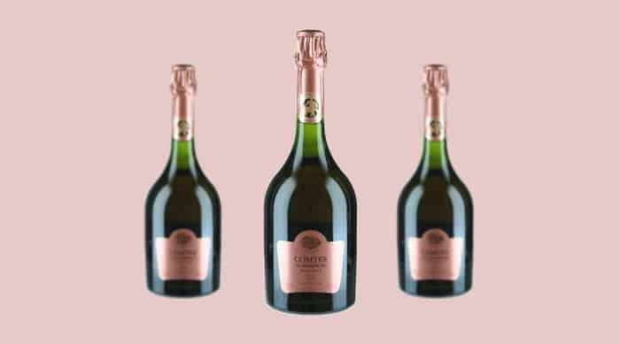Pink champagne: 2006 Taittinger Comtes de Champagne Rose