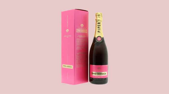Pink champagne: Piper-Heidsieck Rose Sauvage Champagne