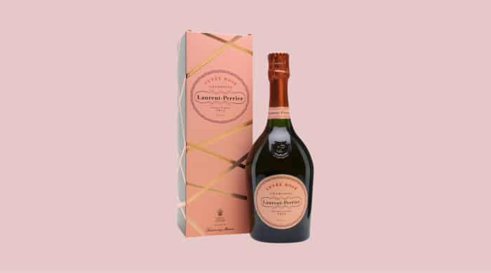Pink champagne: Laurent Perrier Cuvee Rose Brut Champagne