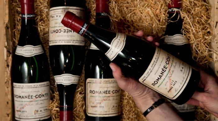 Rare wine: Domaine de la Romanée-Conti Romanée-Conti Grand Cru, 1972