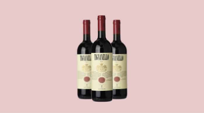 2015 Antinori Tignanello wine