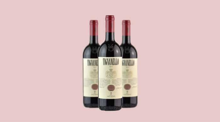 2017 Antinori Tignanello wine