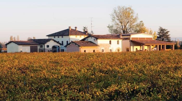 The five Lambrusco DOC wine regions