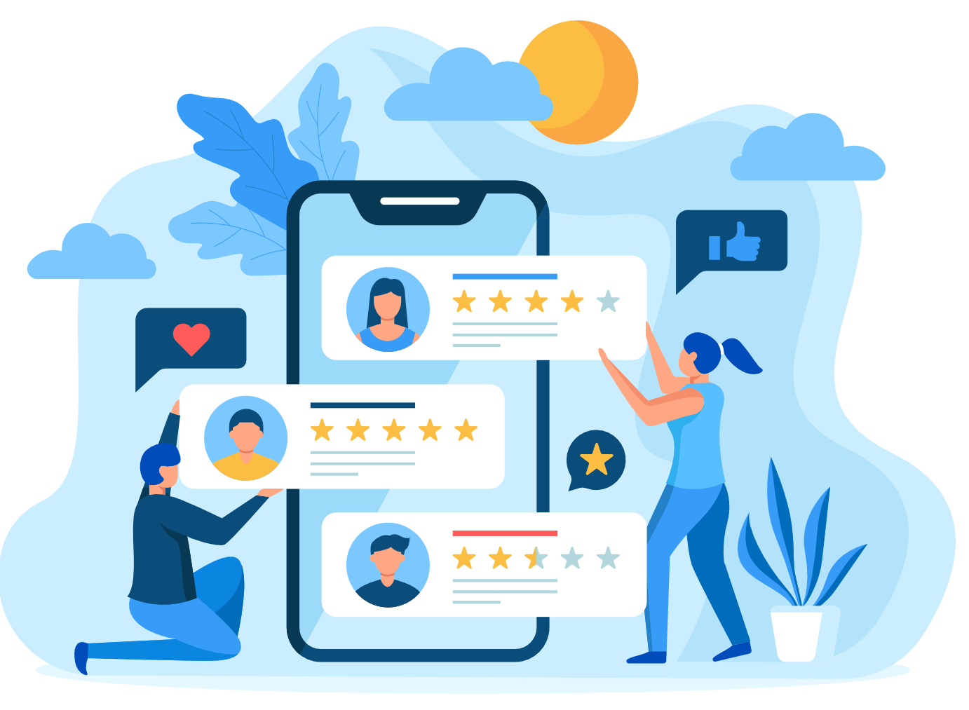 online review builder