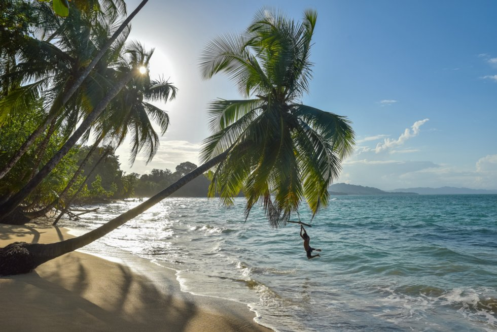 Hele veien fra Puerto Viejo til Manzanillo på den Karibiske siden ligger det herlige strender du har helt for deg selv