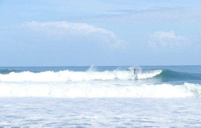Desverre er de gode bølgene rundt Bocas relativt utilgjengelige.
