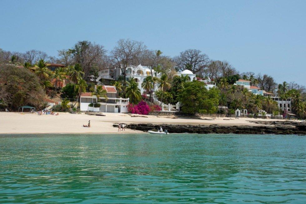 Isla Contadora er den mest tilrettelagte i øygruppen Las Perlas.
