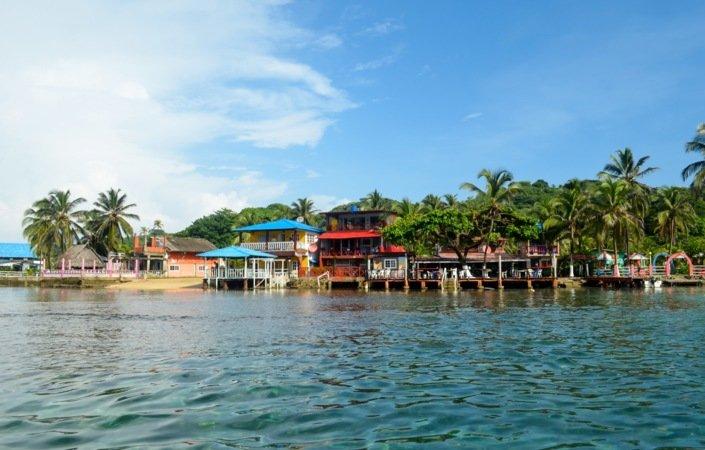 Sjarmerende Isla Grande byr på karibisk stemning og fenomenal sjømat.
