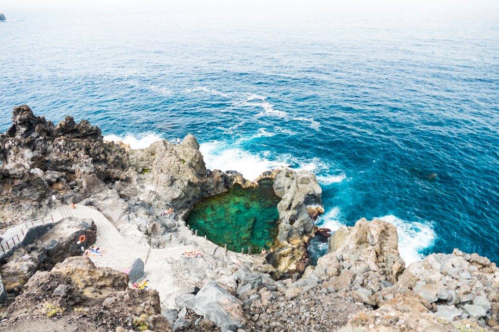 Rundt hele Teneife ligger naturlige saltvannsbasseng. En av de flotteste er Charco De La Laja ved San Juan de la Rambla og den dramatiske Socorro stranden