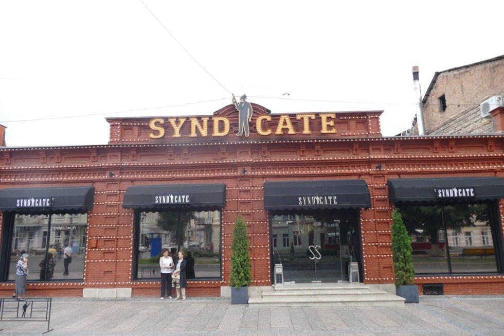 Den kitschy restauranten Syndicate.