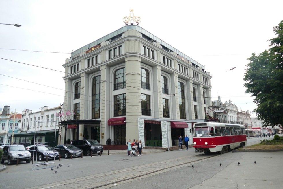 Erverdige Grad Hotel Aleksandrovski i Nord-Ossetias hovdestad