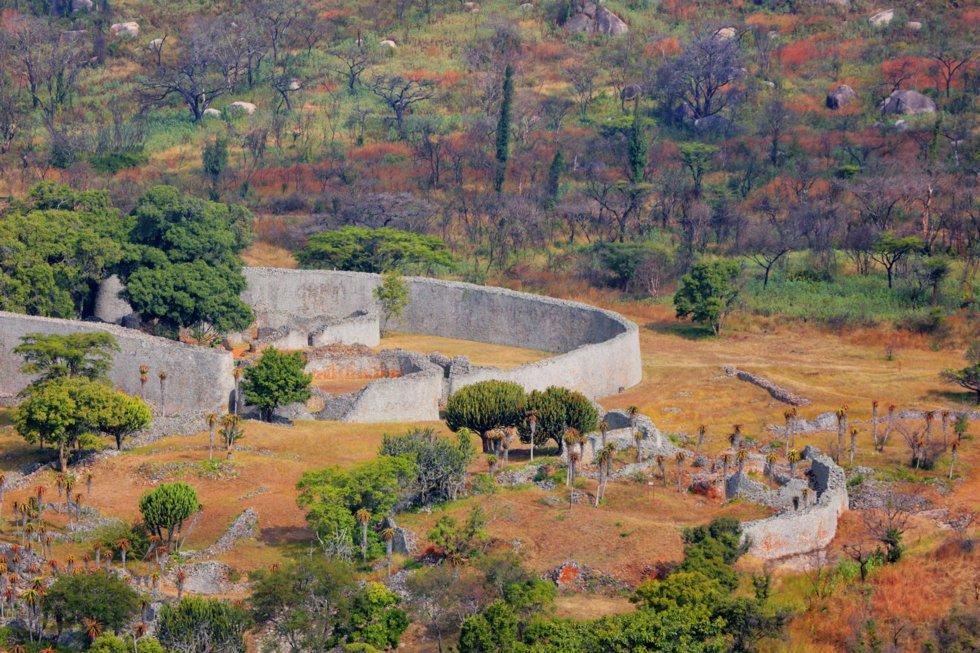Ruinene i Zimbabwe.