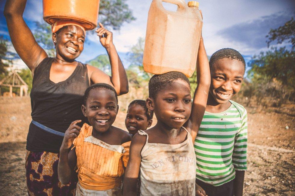 Befolkningen i Zimbabwe er varme og gjestfrie.