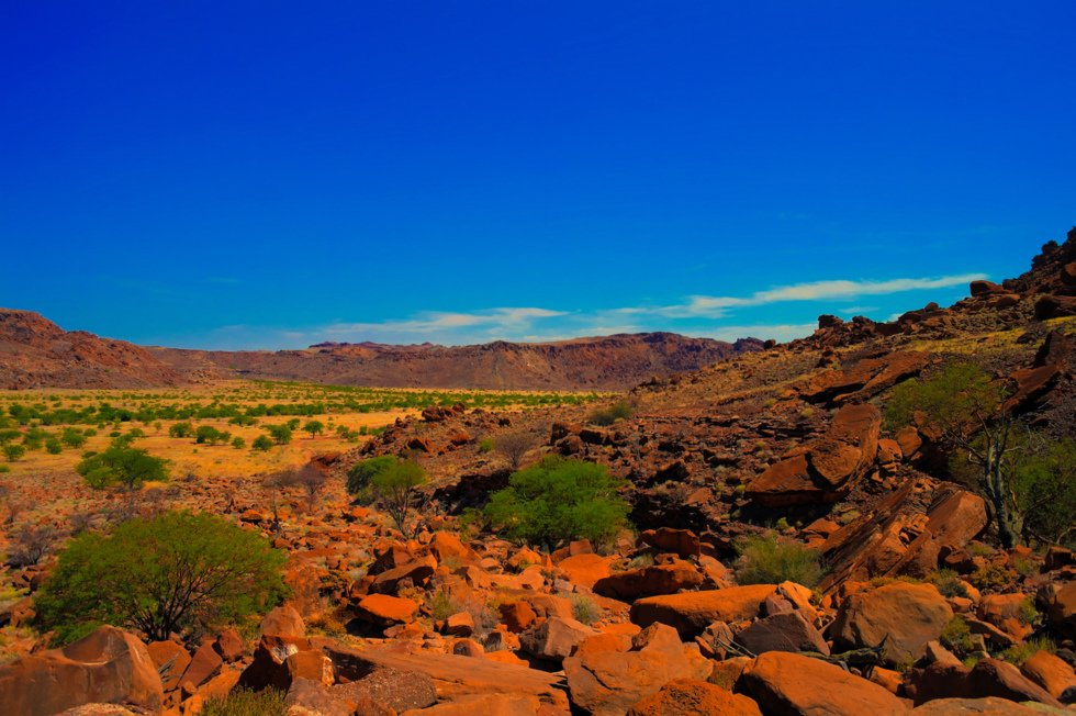 Twyfelfontein, Namibia.