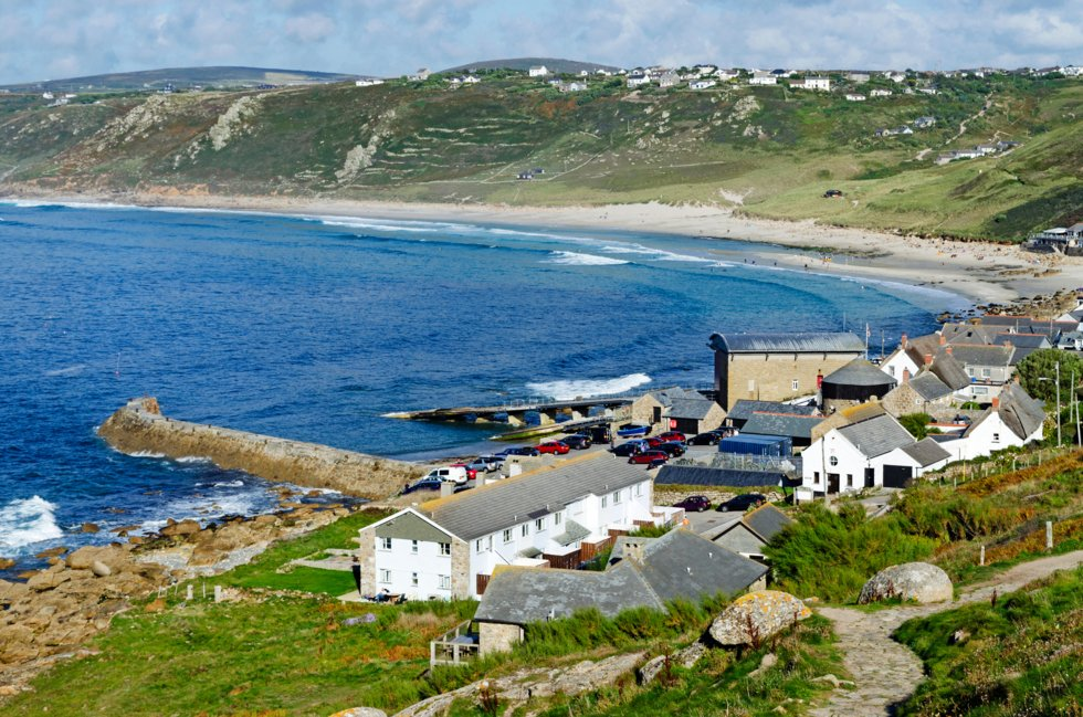 Sennen Cove i Cornwall.