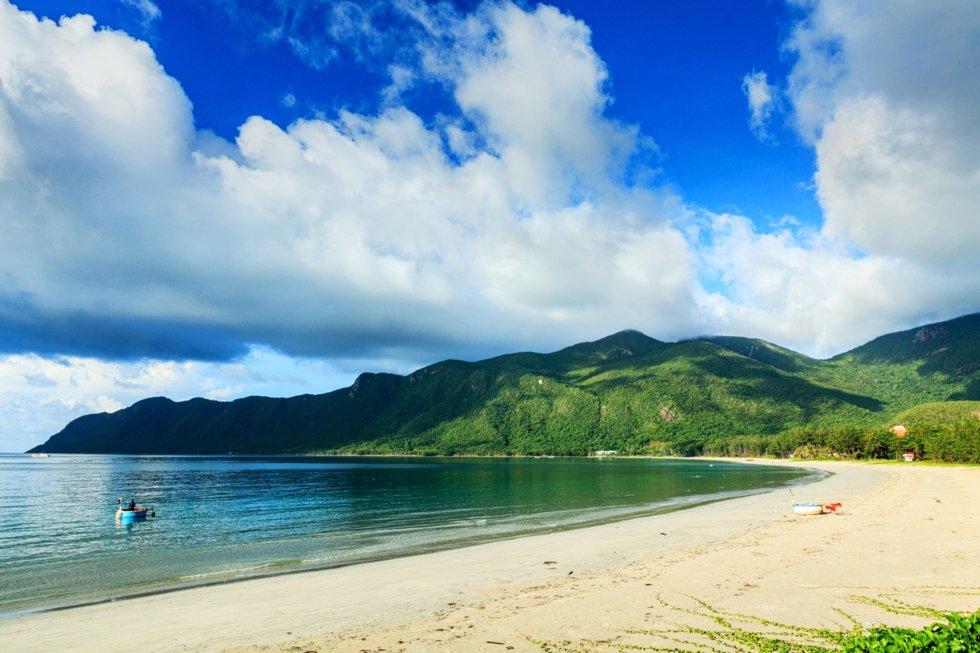 An Hai beach.