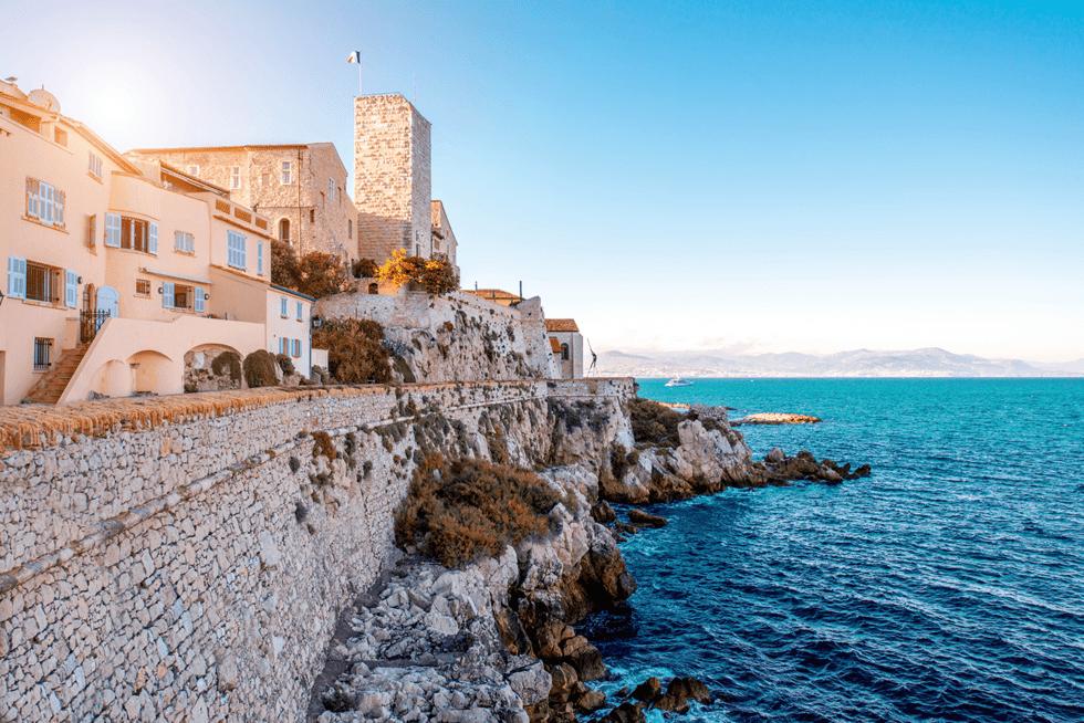 Antibes var både Picassos og Evert Taubes favoritt på Rivieraen.
