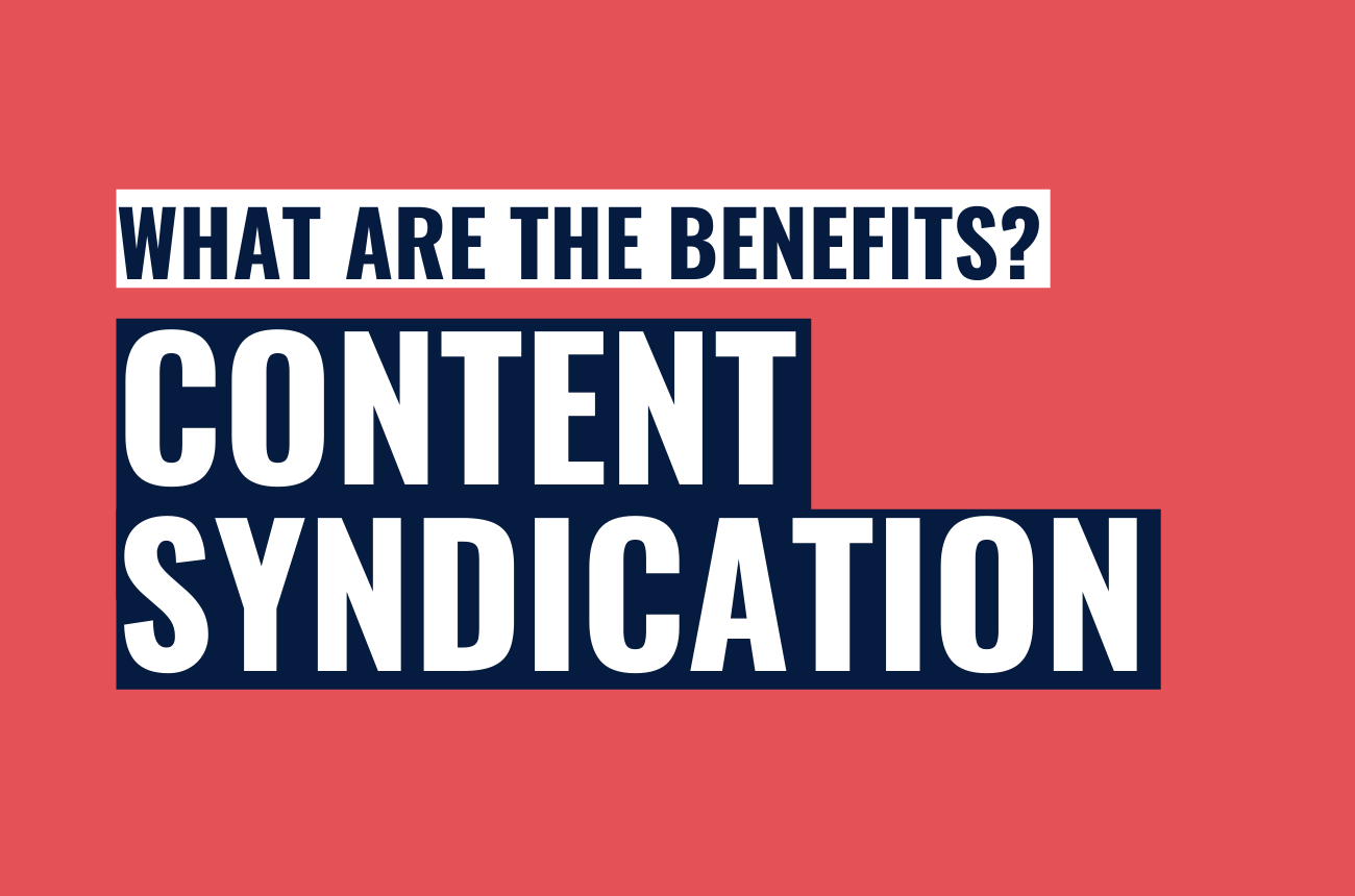 What are the benefits of content syndication in PR?