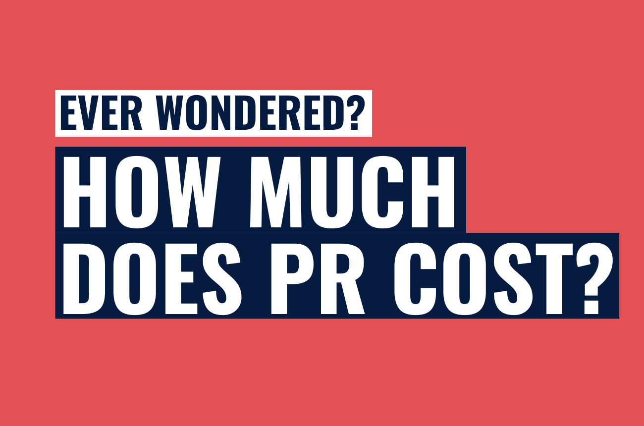 How much does PR cost?