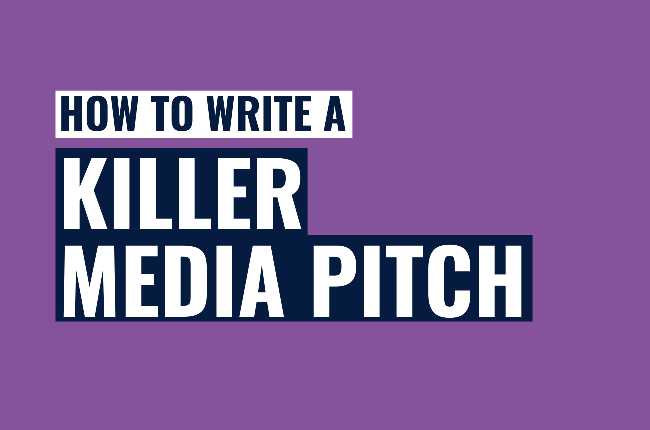 How to write a killer media pitch