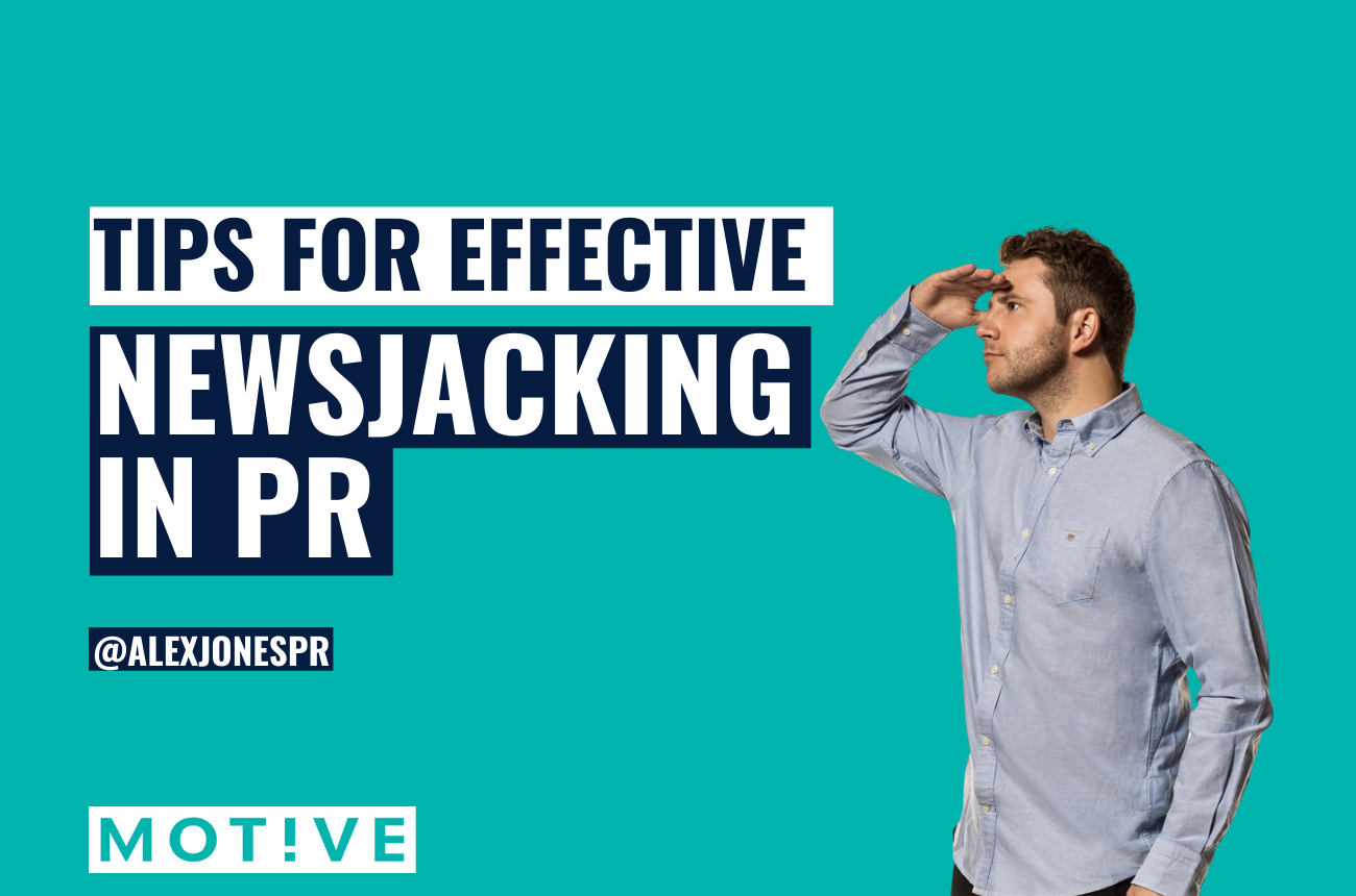 Tips for effective newsjacking in digital PR