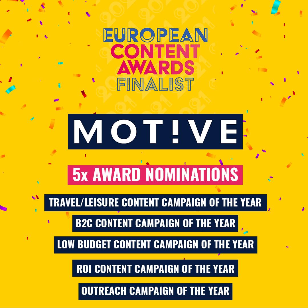 European Content Awards 2021