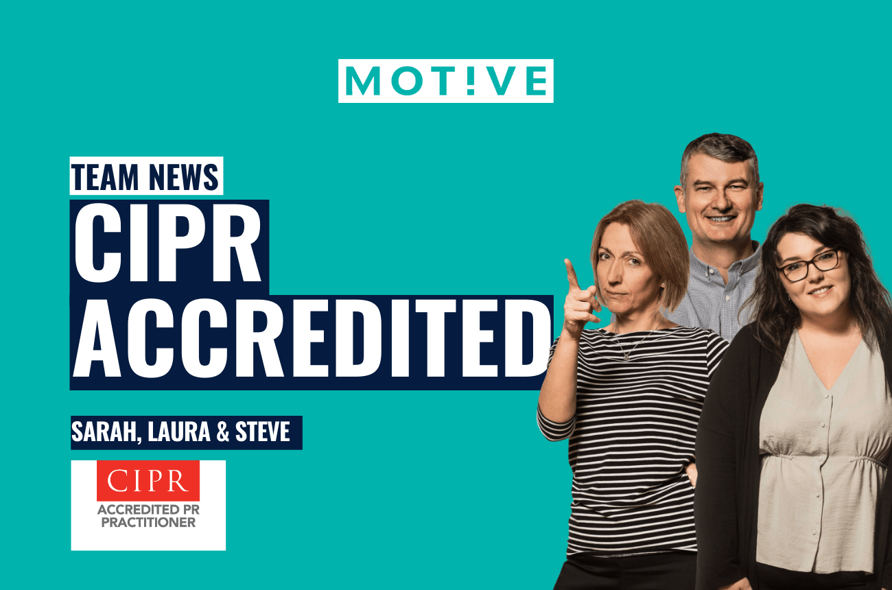 Accredited status for Motive team members