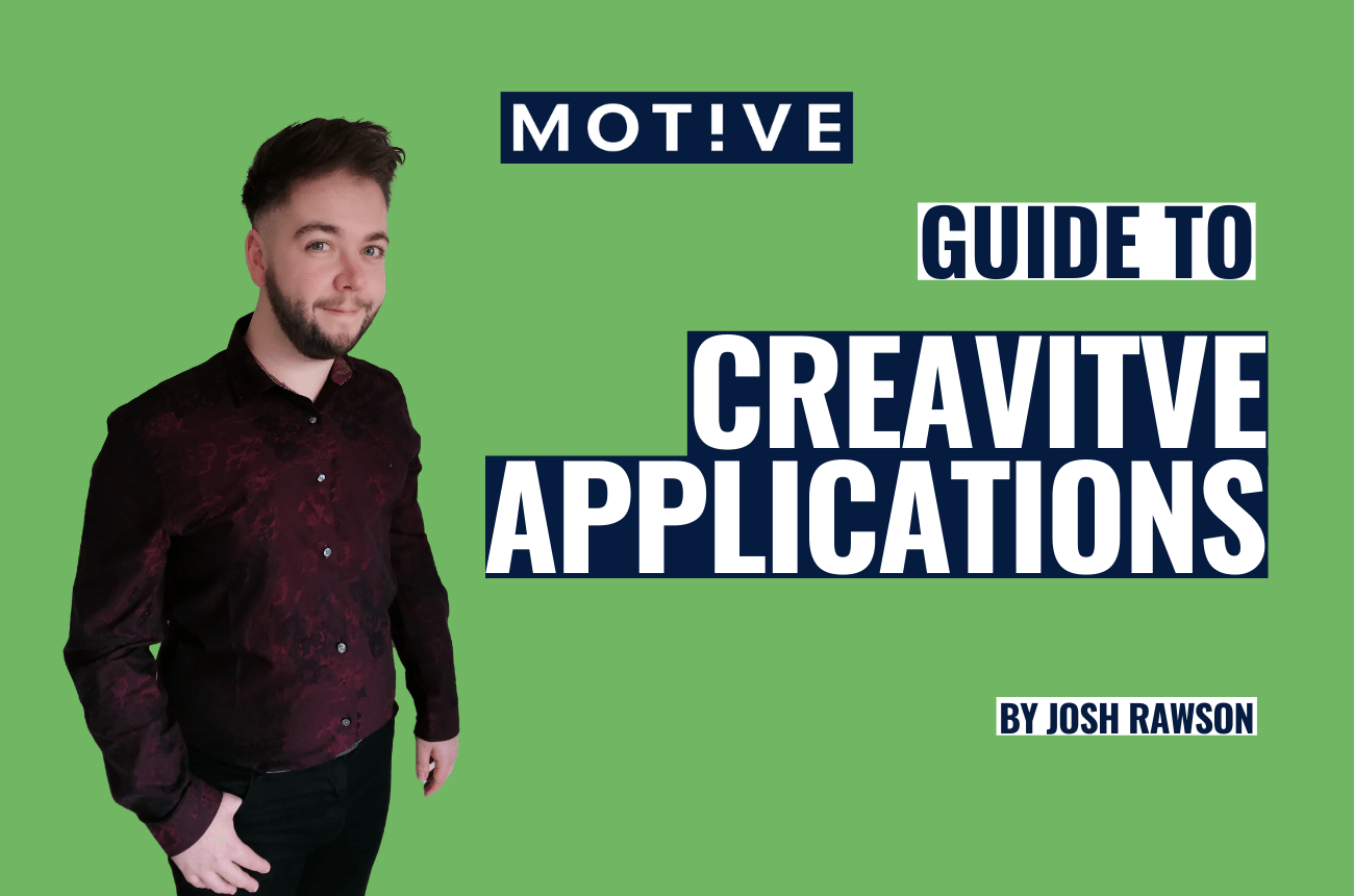 Top tips for a creative CV and job application