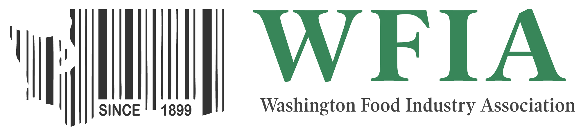 WFIA Logo - Barcode of Washington State