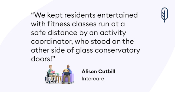 Care home lockdown story - Intercare